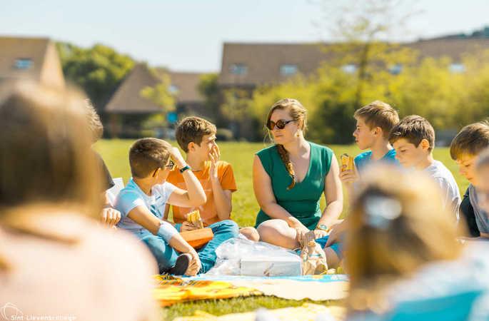 Picknick met de meter- en peterwerking