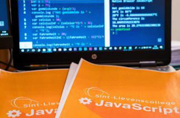 Hink-stap-sprong: HTML, CSS en Javascript in de klas