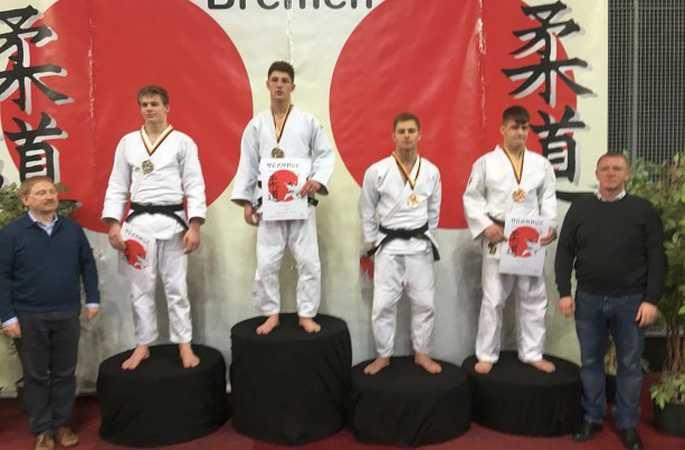 Elias Smeulders (5WWi6-2) verovert brons op International Masters Judo!